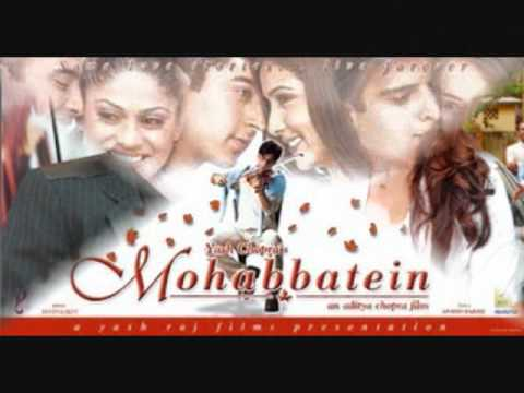 Mohabbatein- Love Theme Instrumental video