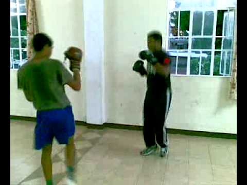 Lindsay Pauvaday _kevin boxe francaise savate training Image 1