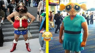 Weird and Funny Cosplay Costumes Fails