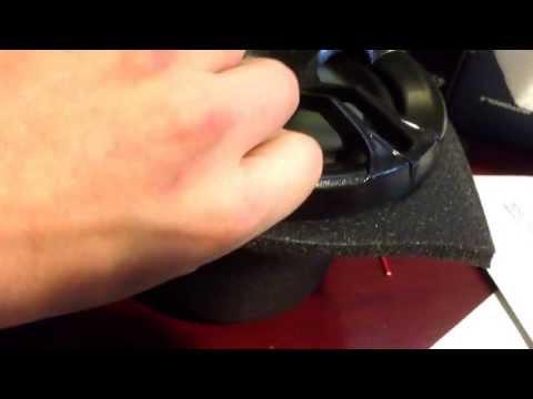5 1/4 foam speaker baffle