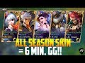 Download BEST TEAM COMPOSITION EVER ft. ALL SEASON SKIN! MOBILE LEGENDS SEASON SKIN GAMEPLAY in Mp3, Mp4 and 3GP