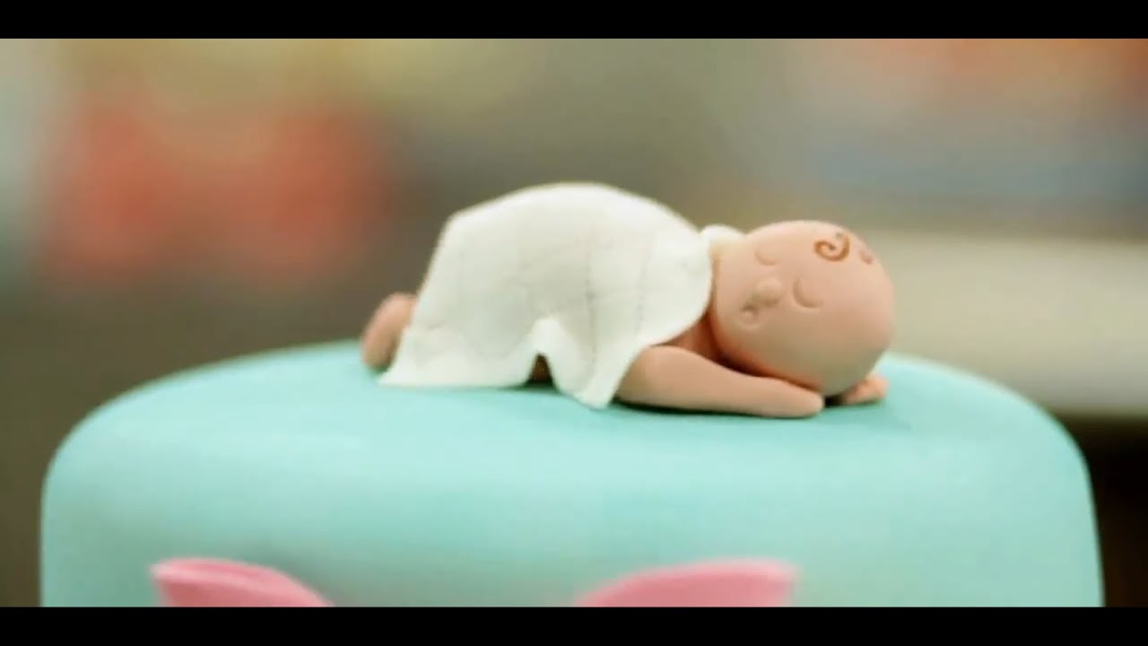 How To Prep Fondant For A Baby Figurine Cake Decorations Youtube