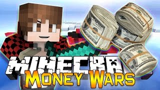 Minecraft: MONEY WARS GAME #3 - TEAMS OF 2! Get to the Chopper! (Epic Mini-Game)