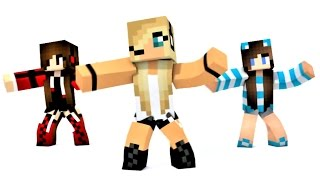 Minecraft Psycho Girl Dance Animation and Song! Psycho Girl Dance 2016