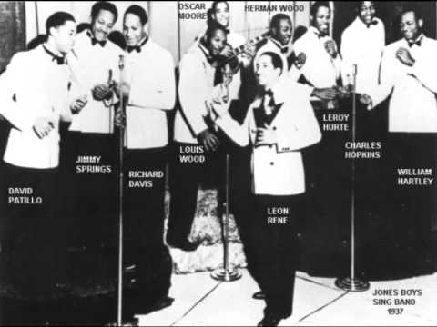 The Jones Boys Sing Band - Sleepy Time In Hawaii (Live Radio Take)