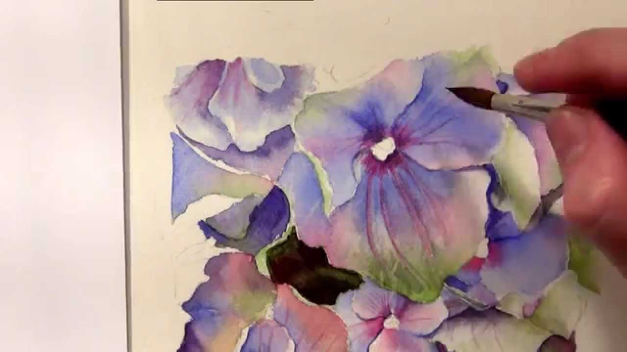 Watercolor Painting Tutorial Tutorial And Watercolor