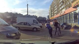 Ký sự đường phố - Cách điều khiển xe đạp và xe oto an toàn nhất