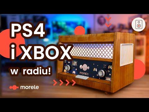DWIE konsole w starym radiu   PS4 x Xbox One