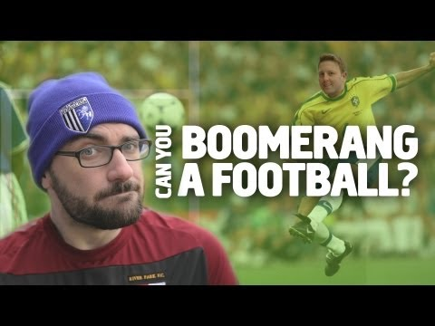 Vsauce - Can You Boomerang A Football? video