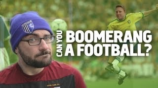 Vsauce - Can You Boomerang A Football?