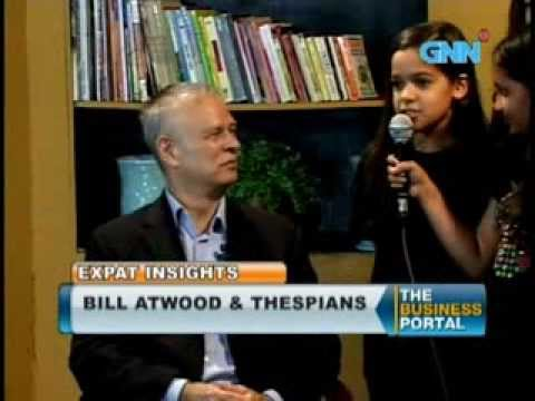 Mastering Shakespeare with Bill Atwood on ExPat inSights by Raju Mandhyan