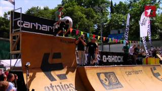 ESC European Skateboard Championships 2010 - Mini Ramp and birthday party