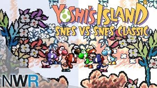 Yoshi's Island: SNES VS SNES Classic