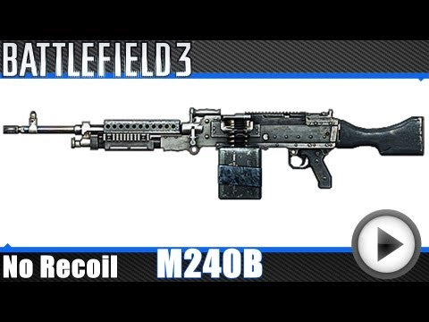 Battlefield 3 - M240B No Recoil Macro (Mouse X7)