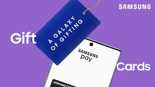 01. Send gift cards from your phone using Samsung Pay | Samsung US