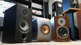 Stereo - KEF LS50 vs Elac Debut 6.2 vs Dynaudio Focus 160