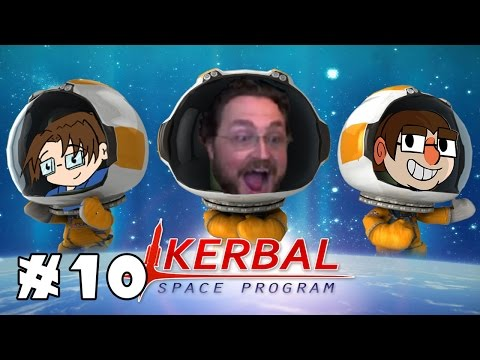 FLY ME TO THE MUN | Kerbal Space Program: Career Mode | Ep. 10