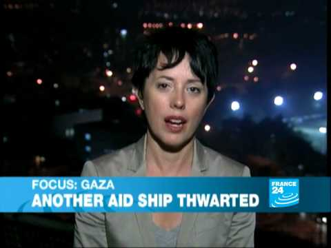 Israeli warships shadow Gaza-bound Libyan aid boat