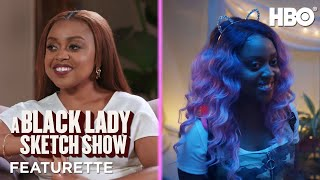 A Black Lady Sketch Show: Meet the Character with Robin Thede & Quinta Brunson Featurette | HBO