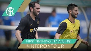 FIRST TRAINING IN NANJING! | #INTERONTOUR | INTER PRE-SEASON 2019/20 🇨🇳⚫🔵