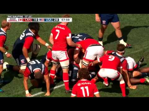 2019 Rugby World Cup Qualification — Canada vs. USA — Game 1 — Highlights
