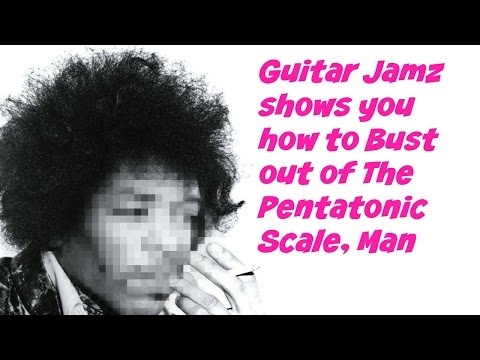 How To Play Notes OUTSIDE Of The Pentatonic Scale (Hendrix Roadmap)