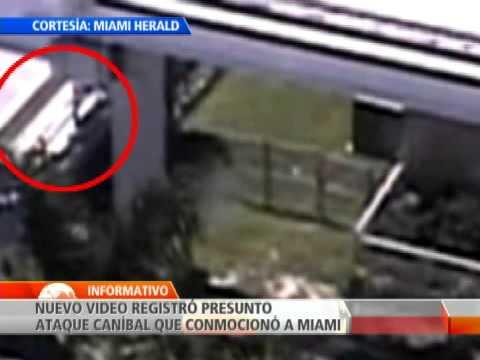 Revelan nuevo video sobre el presunto caso de canibalismo en que conmocionó a Miami