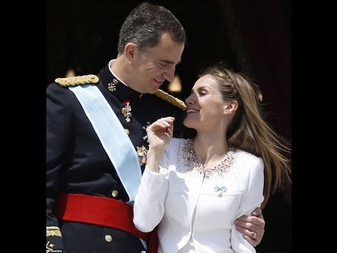 King Felipe of Spain takes the crown from  Juan Carlos, Letizia world's most glamorous monarch