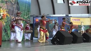 "Kyodai  Traditional Sri Lanka Dance 4 ""Sri Lanka Fest Japan 2012"" -Kyodai TV-"