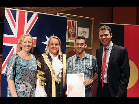 Newcastle Australia Day Awards & Citizenship Ceremony 2015