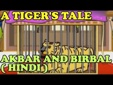 Akbar And Birbal | A Tiger's Tale | Kidrhymes | Hindi video