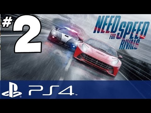Need for Speed Rivals - PART 2 - Enforcing the Law!!! (PS4 Gameplay Commentary)