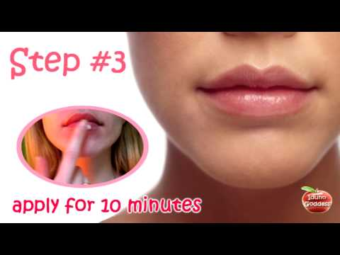 Lips Care - Natural Cosmetics - Homemade Masks For Lips - How to make lips puffy and swollen
