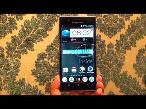 Lenovo K900 Review In depth Hands on First look full HD