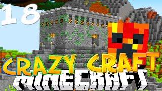 """Minecraft CRAZY CRAFT 3.0 #18 """"RANDOM DUNGEON SPAWNERS!"""" (Crazy Craft SMP)"""