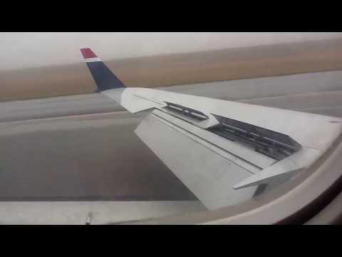 Us Airways CRJ 200 landing