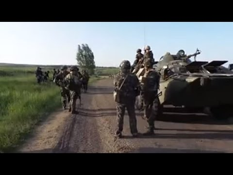 Ukraine War - Ukrainian army arrives to front line near Donetsk Ukraine