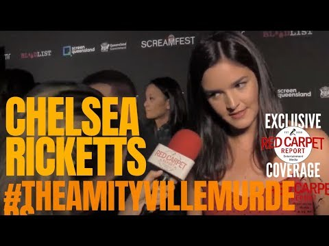 """Chelsea Ricketts Interviewed At #Screamfest Premiere Of """"The Amityville Murders"""""""