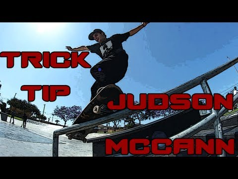 How To : Smith Grind Trick Tip - Judson McCann