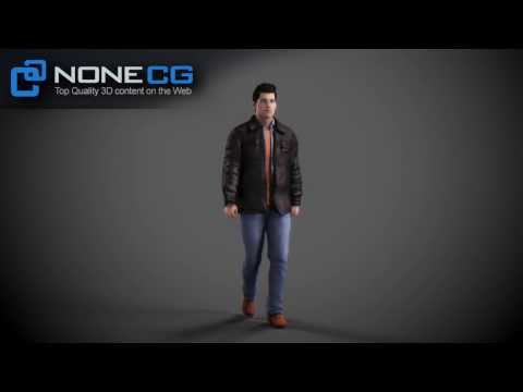 Rigged & Animated CG Human - Realistic 3D Model for Autodesk Maya (Adult Male Tom from NoneCG)