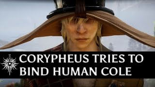 Dragon Age: Inquisition - Corypheus tries to bind Human Cole
