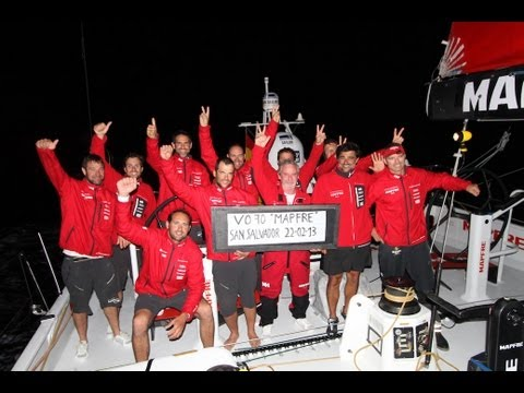 Mapfre set new Columbus record - Volvo Ocean Race 2014-15