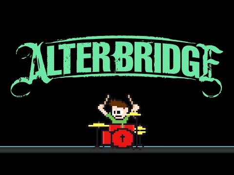 Alter Bridge - Metalingus (Drum Cover) -- The8BitDrummer