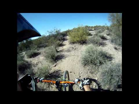 AZ MTB : Gold Canyon Mountain Bike Trails Teaser