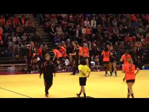 Handbal kwalificatie EK 2014 Nederland Spanje 26 03 2014 nederland spanje