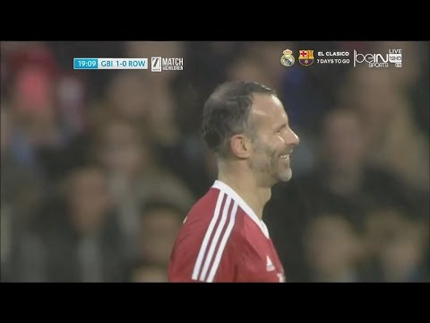 Ryan Giggs vs Rest Of The World (Neutral) 14/11/2015