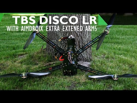 TBS Discovery Endurance with Aimdroix Extra Extended Arms Review