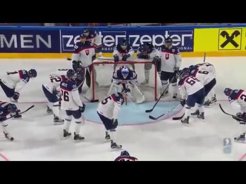 ЧМ-2017.Латвия-Словакия 3-1.WM17.Latvia-Slovakia 7 may