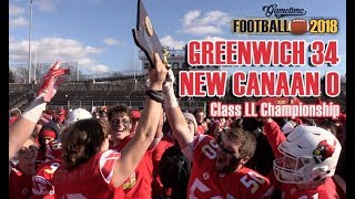 Greenwich defeats New Canaan 34 0 to win 2018 Class LL football championship
