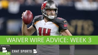 Fantasy Football Waiver Wire: Ranking The Top QBs, RBs, & WRs To Target In NFL Week 3